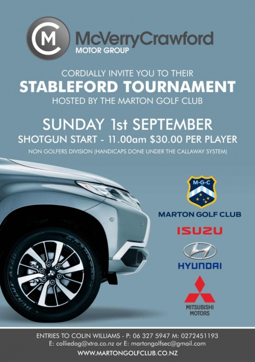 McVerry Crawford Stableford Tournament