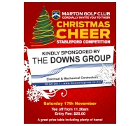 Marton Golf Club Downs Group Christmas Cheer (Click for Draw)